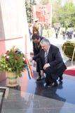 Lupu marial et Serafim Urecheanu photos stock