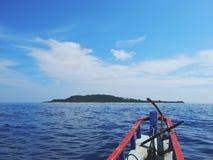 Lupulización de isla entre Bali y Lombok, Indonesia fotos de archivo libres de regalías