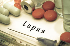 lupus Imagen de archivo libre de regalías