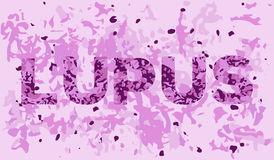 Lupus tissue view Stock Photography
