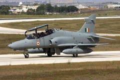 Luqa,马耳他2008年9月6日:在交付的鹰向印度 免版税库存图片
