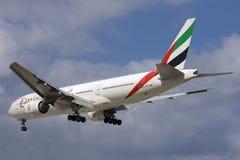 Luqa,马耳他, 2007年10月15日:酋长管辖区777 库存图片