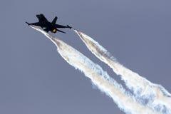 Luqa, Μάλτα - 25 Σεπτεμβρίου 2015: Επίδειξη F-16 Στοκ Εικόνες