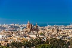 Luqa in Malta Stock Afbeelding