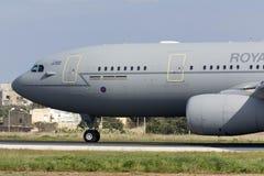 Luqa, Malta 28 de janeiro de 2016: MRTT prontos para decolam Fotografia de Stock Royalty Free