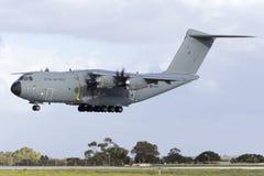 Luqa, Malta - 28 de noviembre de 2015: ROYAL AIR FORCE A400M Fotografía de archivo