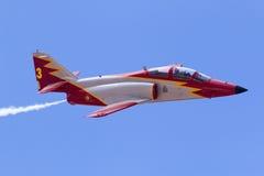 Luqa, Malta 26 de septiembre de 2014: Casa C-101 Aviojet fotos de archivo
