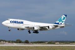 Luqa, Malta 26 de septiembre de 2004: Corsario 747 Imagen de archivo libre de regalías