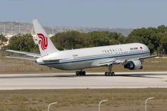 Luqa, Malta 20 de setembro de 2005: Air China 767 Foto de Stock Royalty Free