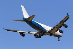 Luqa, Malta - 26 de setembro de 2015: 747 aterrando Fotos de Stock