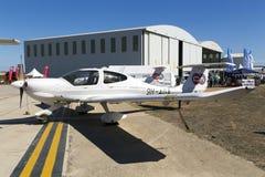 Luqa, Malta 26 de setembro de 2015: Diamond Light Aircraft Imagens de Stock