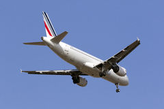 Luqa, Malta - 5 de setembro de 2015: A320 francês Fotografia de Stock
