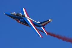 Luqa, Malta, el 25 de septiembre de 2010: Jet alfa francés Imagen de archivo