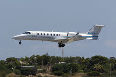 Maltese registered LearJet Royalty Free Stock Images