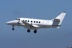 Luqa Malta, 12 mars 2008: BAe Jetstream Arkivbild