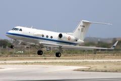 Luqa, Malta, 29 May 2007: Indian Air Force GIII. Stock Photo