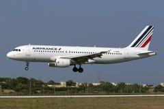 Luqa, Malta, o 19 de julho de 2015: Air France A320 Fotos de Stock
