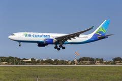 Luqa, Malta 8 October 2015: A330 landing. Royalty Free Stock Photos