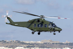 Luqa, Malta - 28 September 2015: AW189 Take off. Stock Photography