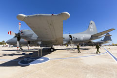 Luqa, Malta - 26 September 2015: Canadian CP-140. Royalty Free Stock Photography