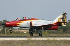 Luqa, Malta 25 September 2014: Casa C-101 Aviojet Royalty Free Stock Photography