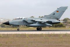 Luqa, Malta am 25. September 2014: Deutscher Tornado Lizenzfreie Stockfotos