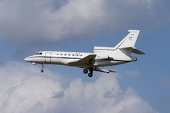 Luqa, Malta September 22, 2004: Italian Falcon 50 Stock Images