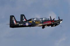 Luqa, Malta am 29. September 2014: RAF Tucanos entfernen an sich Stockfoto