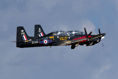 Luqa, Malta 29 September 2014: RAF Tucanos on take off. Stock Photo