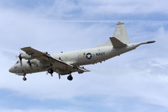 Luqa, Malta - 25 settembre 2015: Orion Landing Immagine Stock Libera da Diritti