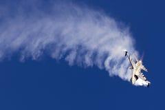 Luqa, Malta - 27 2015 Wrzesień: F-16 pokaz Zdjęcie Royalty Free