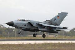 Luqa, Malta 25 2014 Wrzesień: Niemiecki tornado Obrazy Royalty Free