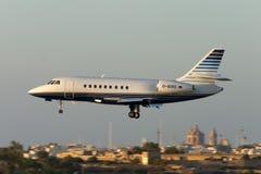 Luqa, Malte, le 7 juin 2005 : Faucon 2000EX de Dassault Photographie stock