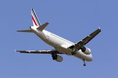 Luqa, Malte - 5 septembre 2015 : A320 français Photographie stock