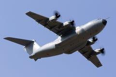 Luqa, o 5 de agosto de 2015: A400M decolam sobre Imagem de Stock Royalty Free