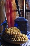 Luqaimat, Awwama, ή Luqmat Alqadi, διαφορετικά ονόματα για αυτό το Ara Στοκ εικόνα με δικαίωμα ελεύθερης χρήσης