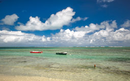 Luquillo beach Royalty Free Stock Images