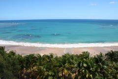 luquillo na plaży fotografia stock