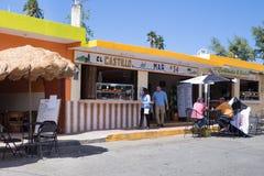 Luquillo strand Puerto Rico Fotografering för Bildbyråer