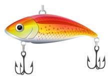 Lur de la pesca stock de ilustración