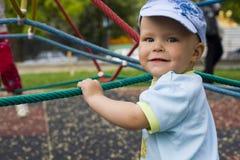 Lura på barns lekplats Royaltyfria Foton