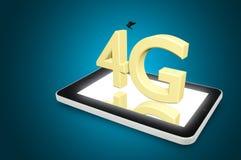 Lurar cell- snabb dataanslutning för den mobila telekommunikationen Royaltyfri Foto