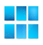Lurar den abstrakta samlingen för bakgrund 001 av prickcirkelbeståndsdelen för Arkivbild