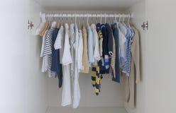 Lurar garderoben Arkivbilder