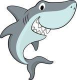 lurar hajen Fotografering för Bildbyråer