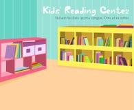 Lurar läs- rum Fotografering för Bildbyråer
