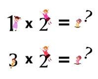 lurar math vektor illustrationer