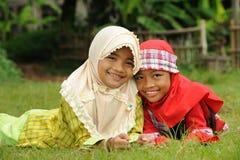 lurar muslim fotografering för bildbyråer