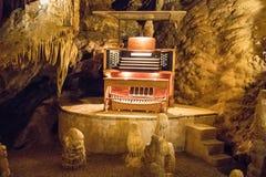 Luray洞穴给催眠的自然奇迹  免版税图库摄影