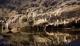 luray的洞穴 免版税库存图片
